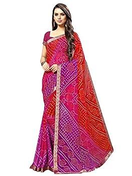 chiffon sarees for women
