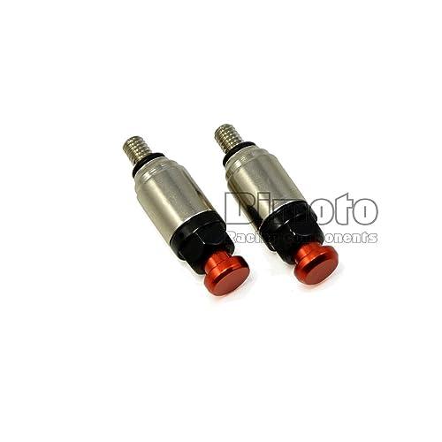 Válvula de descarga de BJ Global M4x0,7 para motocicletas