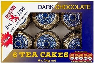 Tunnock's Tea Cakes Dark Chocolate 6 x 24g