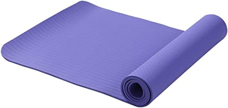 Eco-Friendly TPE Yoga Mat with Carry Strap - 6mm Thick Yoga Mats for use as Workout Mat or Exercise Mat - TPE Material is The Best Material for a Yoga Mat - Comfortable, Non-Slip & Water Resistant