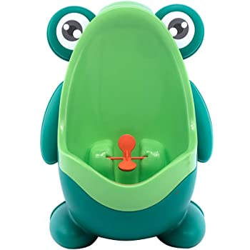 Neuf Grenouille enfant Pee Potty Toilettes formation enfants Urinoir pour gar/çons Pee Trainer de salle de bain