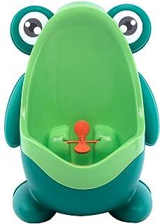 Grenouille Pot WC enfant formation enfants Urinoir pour gar/çons Pee Trainer de salle de bain /à suspendre et support /à