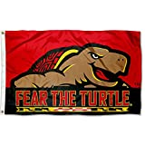 College Flags & Banners Co. Maryland Terrapins Fear The Turtle Flag