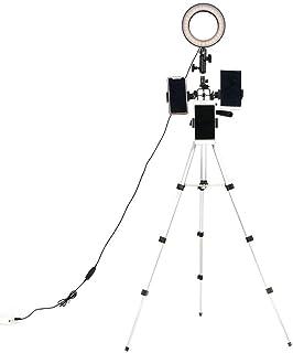 sjlerst Mini Size Long Service Life Video Fill Light, Camera Fill Light, Ultralight for Children's Photography Nail Art Be...