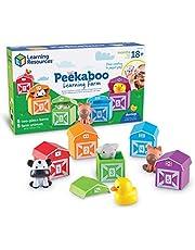 Learning Resources LER6805 Peekaboo farma naukowa