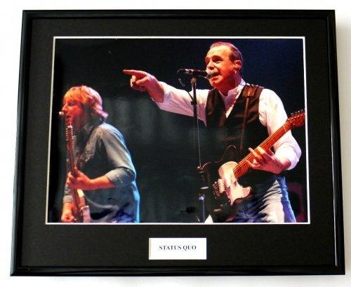 Framed Photo Status Quo/Foto, gerahmt, 5 Stück