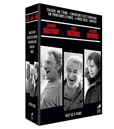 Hallyday - Mitchell - Dutronc - Coffret: Salaud, on t'aime + + L'aventure c'est l'aventure + Un printemps à Paris + À nous deux + Wanted [Italia] [DVD]