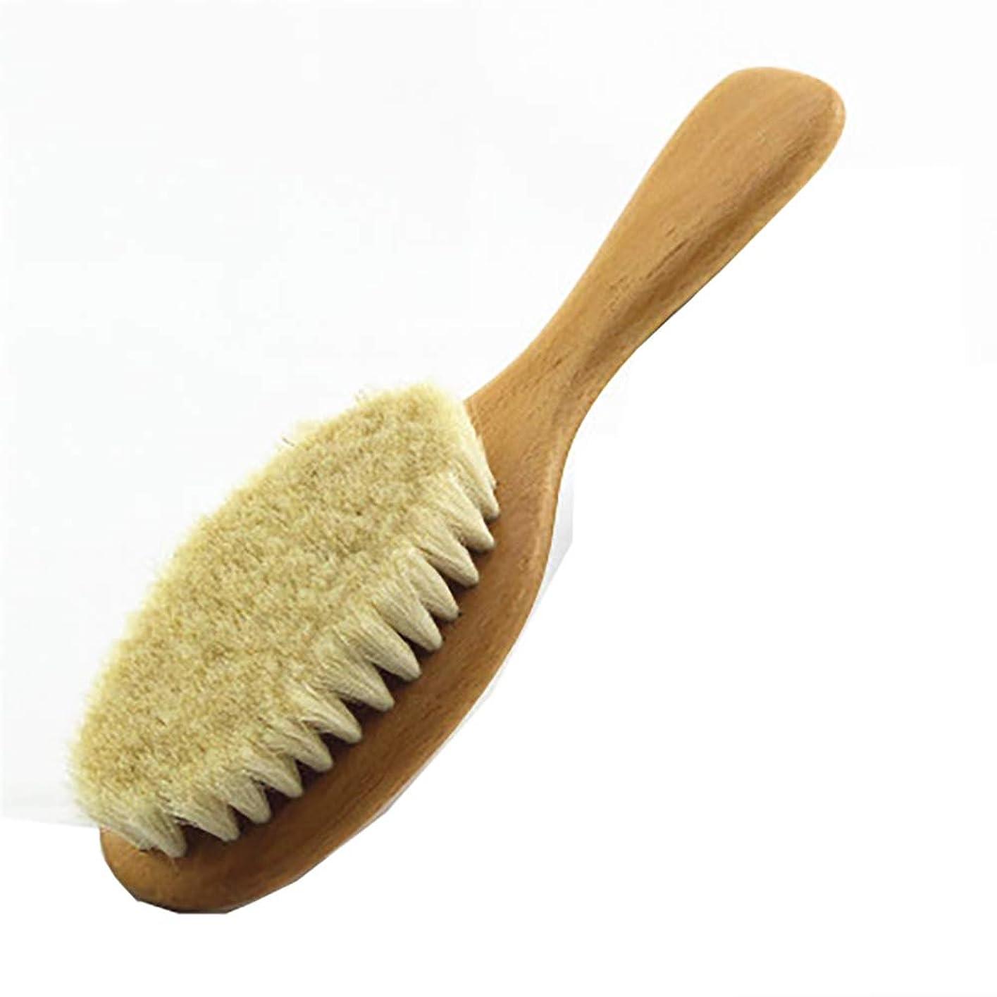 多数のキルス模索Maltose ボディブラシ 100%ウール 背中ブラシ 赤ちゃん 柔らかい お風呂用 体洗いブラシ 血行促進 角質除去 毛穴洗浄