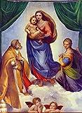 Kunstdruck/Poster: Raphael Die Sixtinische Madonna -