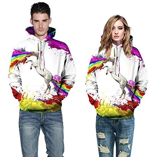 ACC mannen en vrouwen pullover hoodie met capuchon strap Kangaroo Pocket, Hd 3D Print pullover licht sweatshirt