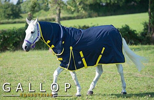 Gallop Trojan - Manta de caballo con cuello