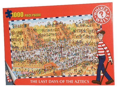 Paul Lamond 7350 Where's Wally The Last Days of the Aztecs Jigsaw Puzzle, 1000 Pieces by Paul Lamond Games