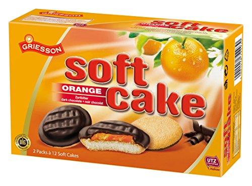Griesson Soft Cake Orange 4 x 300g