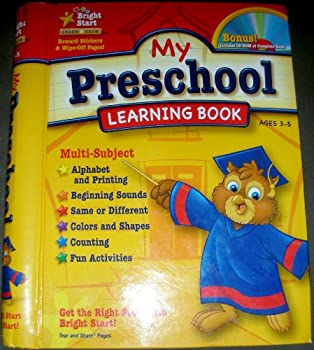 My Preschool Learning Book 1403751951 Book Cover