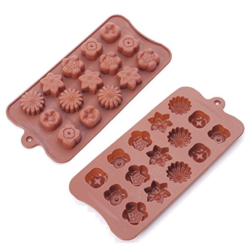 Motzu 2Pack silicone cake Mold for 3D cottura torta zucchero gelatina cioccolato fondente Gumpaste pasticceria Candy