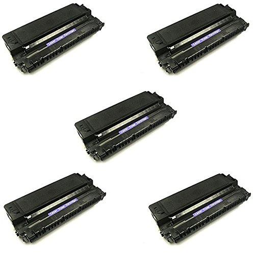 5 Toner kompatibel zu Canon E30 E40 für Canon FC100 FC120 FC128 FC200 FC210 FC220 FC224 FC230 FC300 FC310 FC330 FC336 FC530 PC550 PC710 PC720 PC730 PC750 PC760 PC770 PC780 - Schwarz, hohe Kapazität