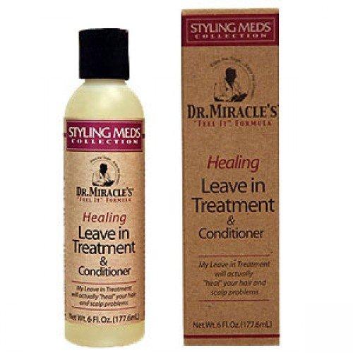 Dr Miracle de guérison Soin sans rinçage et après-shampoing 177 ml