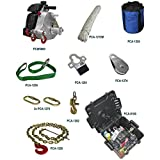 Portable Winch Co. PCW5000-PK Portable Gas-powered Winch Pulling Kit