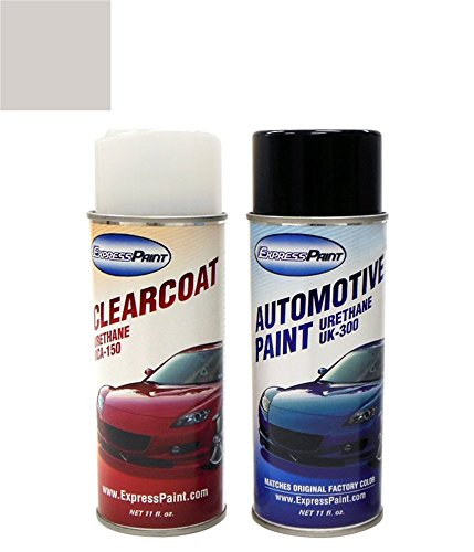 ColorRite Aerosol Automotive Touch-up Paint for Toyota Tacoma - Silver Metallic Clearcoat 1C8 - Color+Clearcoat Package
