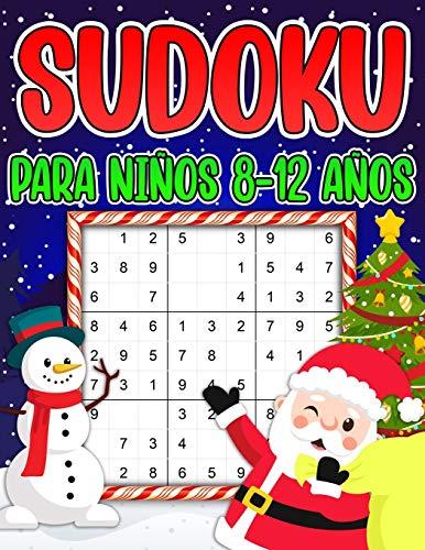 Sudoku para niños 8-12 Años: Sudoku de Navidad para Niños de 8-12 Años - 240 rompecabezas Sudoku 9x9 con Soluciones