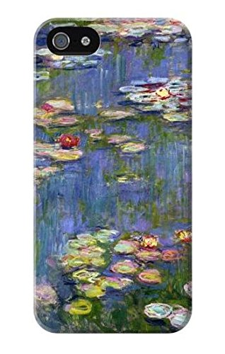 R0997 Claude Monet Water Lilies Case Cover for iPhone 5 5S SE