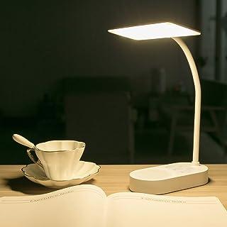 Rechargeable LED Desk Table Lamp Portable Reading Book Light Eye Care for Home Office Kids Children Study Bed Bedroom Batt...
