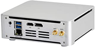 HUNSN 4K Mini PC,Desktop Computer,Server,Intel 6 Cores I7 8750H,Windows 10 Pro/Linux Ubuntu,BM21,AC WiFi2.4+5Ghz/BT/DP/HDM...