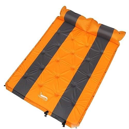 SMEI Pads De Couchage Auto-gonflants avec L'oreiller d'air 192x132cm Tente Sleeping Mattress Portable Lightweight Pads