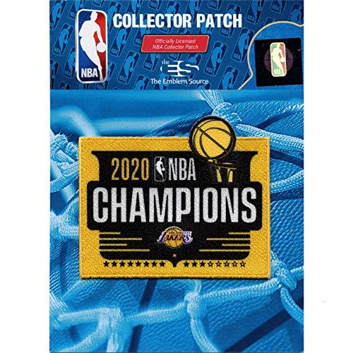 Emblem Source 2020 NBA Finals Champions Los Angeles Lakers Trophy Square Patch