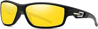 نظارات شمسية للجنسين TR90 بولاريزد للرياضة لركوب الدراجات والصيد UV 400