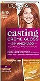 L'Oreal Paris Casting Crème Gloss Coloración Sin Amoniaco, Tono: 645 Ambre