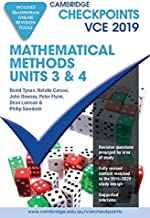 Cambridge Checkpoints VCE Mathematical Methods Units 3 and 4 2019 and QuizMeMore