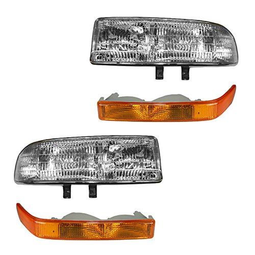 Headlight & Corner Light Kit Set of 4 for S10 S15 Pickup Blazer Jimmy