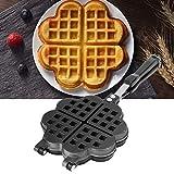 Kuchenform, Antihaft-Kochzubehör Bubble Waffle Maker Pan Waffeleisen Backblech für Hausmannskost für Haushaltsküche für Gasherd