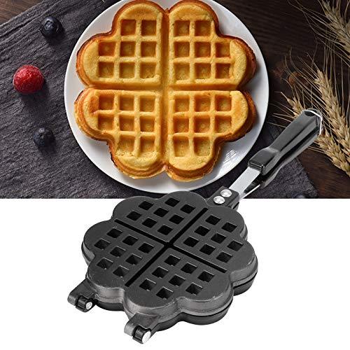 HelloCreate Molde para gofres para hacer gofres, para hacer gofres, para hornear pasteles, accesorios de cocina adecuados para cocinar en casa
