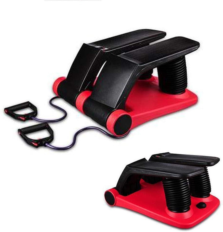 GL-motion Air Fitness Stepper, Trainingsgerte mit Widerstandsbndern - Schützen Sie Ihre Knie und trainieren Sie Ihren Krper