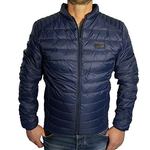 Blend Herren Steppjacke Jacke Sweat Winterjacke Storm S M L XL XXL Sale (S, Blau)