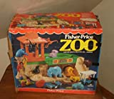 Fisher Price Vintage Little People Zoo Playset #916