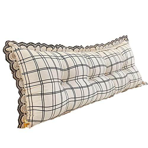 Almohada elevada de cuña Grande en la Cama, Almohada Triangular en Forma de cuña en la Cama, apoyar la Espalda Mientras se relaja, los Juegos o la televisión.