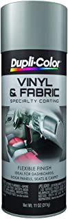 Dupli-Color (HVP109-6 PK Medium Gray Vinyl and Fabric Coating - 11 oz. Aerosol, (Case of 6)