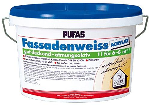 Pufas Fassadenweiss Acrylat 2,500 L