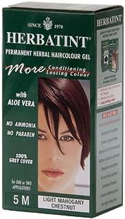 Herbatint Herbal Haircolor Permanent Gel 5M Light Mahogany Chestnut 4.50 oz