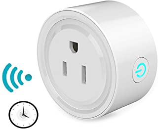 TAOPE Smart Plug, Mini WiFi Smart Outlet Socket, Compatible with Amazon Alexa, Google Home & IFTTT, No Hub Required