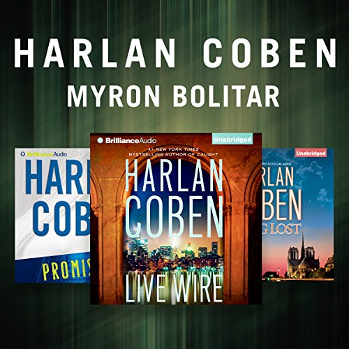 Harlan Coben - The Myron Bolitar Series audiobook cover art