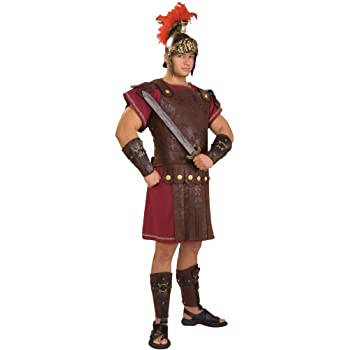 Rubies Disfraz de romano con armadura, talla para adultos: Amazon ...
