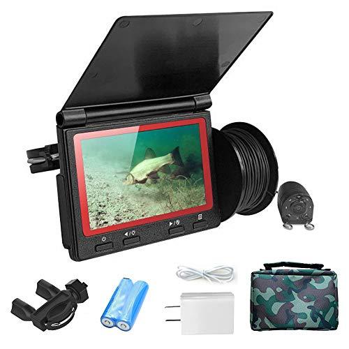 Lixada Portable 4.3inch Monitor Fish Finder, Waterproof Underwater 1000TVL Fishing Camera, 180...