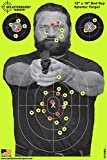 Bad Guy Splatter Burst Large Targets - 25 Pack