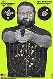 Splatterburst Targets - Lote de 25 Objetivos de Tiro para Hombre Malo (30,5 x 45,7 cm)