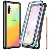 Temdan Samsung Galaxy Note 10+ Plus 5G Case,Built-in Screen Protector Full Body Protect,Heavy D…