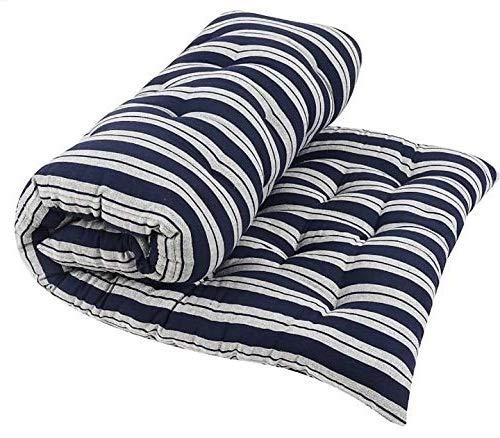 Colofly Soft Cotton Multicolour Mattress/Gadda (3x6) Single Bed, Blue Chaque Multicolor